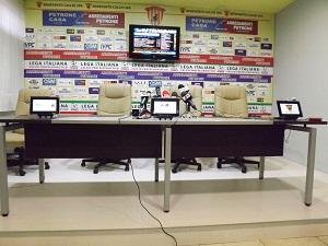 Qui Stadio Vigorito : le interviste del dopo partita. Benevento 0 Cosenza 0
