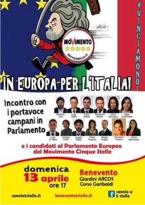 A Benevento arriva il Campania Tour del M5S