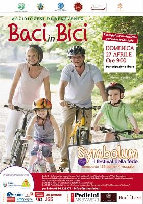 """""""Baci in bici, passeggiata in bicicletta attraversando la città"""""""