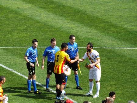 Benevento 0 Catanzaro 0. Il Benevento non riesce a vincere e si complica maledettamente il cammino