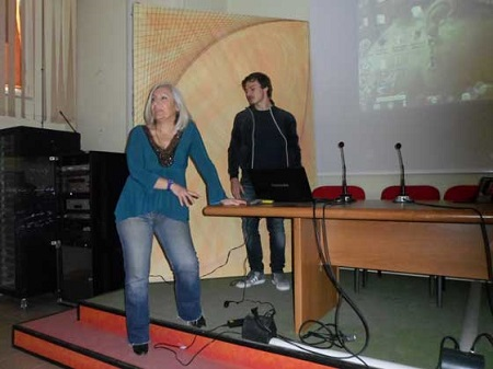 """Progetto """"Lavori in Corso"""". Gli alunni del Liceo Artistico di Benevento hanno incontrato l'attore Domenico Balsamo"""