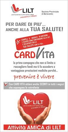 Prende il via il progetto CARD VITA della LILT di Benevento