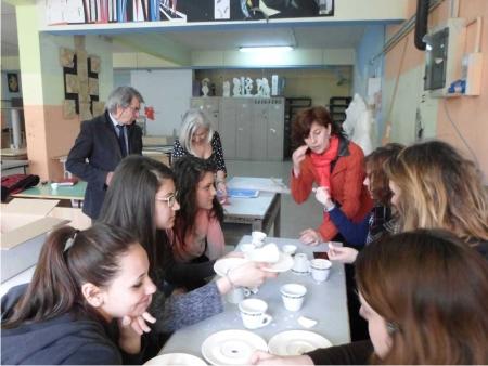 """Progetto """"Lavori in corso"""", al via oggi il workshop dell'artista Matilde Domestico al Liceo Artistico di Benevento"""
