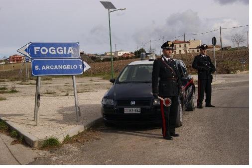 Sant'Arcangelo Trimonte: sul luogo dell'incendio anche i Carabinieri di Paduli
