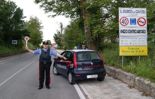 A San Marco dei Cavoti i Carabinieri arrestano una cittadina rumena per furto