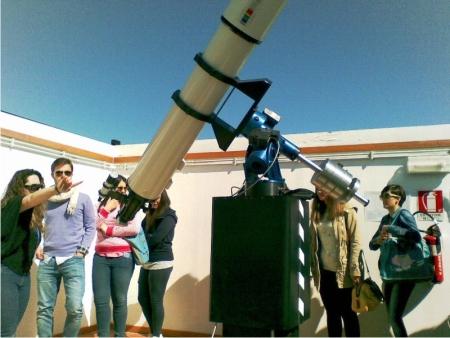 L'Istituto Livatino di San Marco dei Cavoti visita l'osservatorio di Monte Porzio Catone, isola Liri ed il Museo Historiale di Cassino
