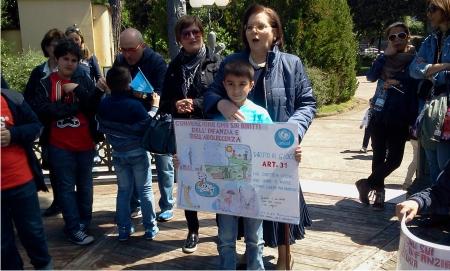 Unicef e Fiat 500 Club Italia – coordinamento di benevento per i diritti dei bambini.