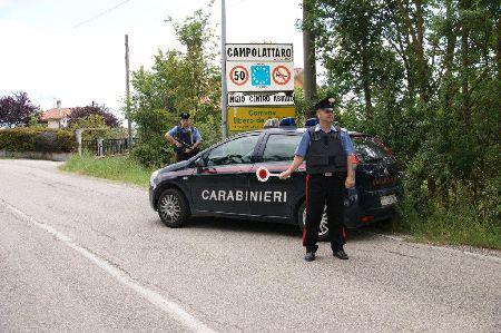 Campolattaro:sorpreso alla guida di un'auto rubata viene fermato dai Carabinieri