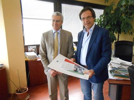 Benevento: Il direttore generale di Soresa in visita al Rummo