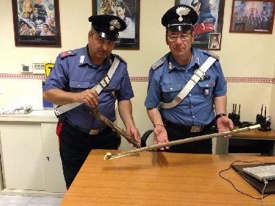 San Giorgio del Sannio: rissa a colpi di bastone e di bottiglie.Arrestati quattro giovanì.