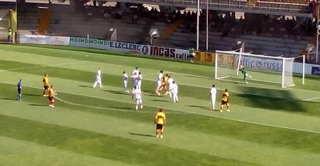 Tim Cup 2014/2015: Il Benevento supera il 1° Turno battendo per due reti a zero la Correggese