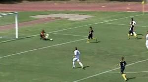 il gol di Alfageme ad Ischia