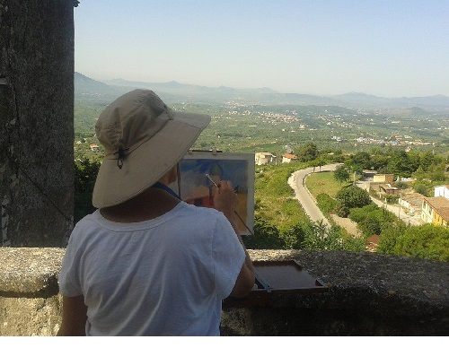 Guardia Sanframondi: due mostre d'arte nel borgo medievale