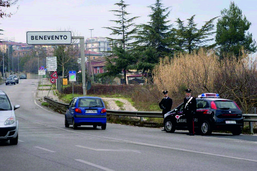 Benevento: viola ripetutamente gli obblighi della sorveglianza speciale.Arrestato pregiudicato 47enne
