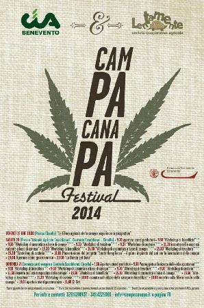 Festival CampaCanapa: domani la presentazione alla Camera di Commercio di Benevento