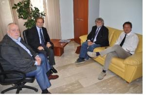 Claudio Ricci ha incontrato questa mattina il Presidente del Tribunale di Benevento Michele Cristino