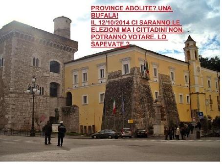 Meetup Grilli Sanniti: assalto pacifico alla Rocca