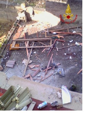 Ricoverata al Rummo di Benevento l'anziana signora investita dall'esplosione questa mattina a Paduli