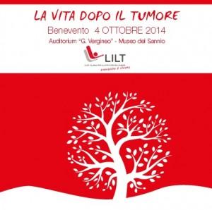 """Domani a Benevento Congresso della LILT  """"La vita dopo il tumore""""."""