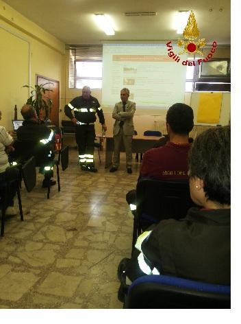 Vigili del Fuoco: il neo direttore Nanni per la Regione in visita presso il Comando Provinciale di Benevento