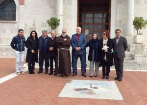 Visita privata del Presidente della Provincia di Benevento Claudio Ricci ai luoghi di Padre Pio da Pietrelcina.