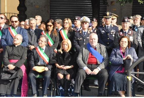 Oggi 4 Novembre la manifestazione celebrativa della Festa dell'Unità Nazionale e delle Forze Armate.