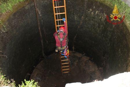 Ritrovato il cadavere di un uomo di 66 anni in un pozzo