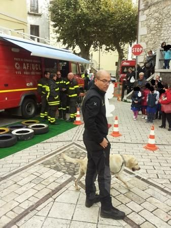 """""""Pompieropoli"""" a Guardia Sanframondi in occasione della Festa delle Forze Armate"""