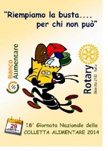 Rotary Club Benevento e Rotaract: il 29 Novembre insieme per la Colletta Alimentare presso il Centro Commerciale Buonvento