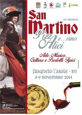 Fragneto L'Abbate:8 e 9 Novembre torna la festa di San Martino