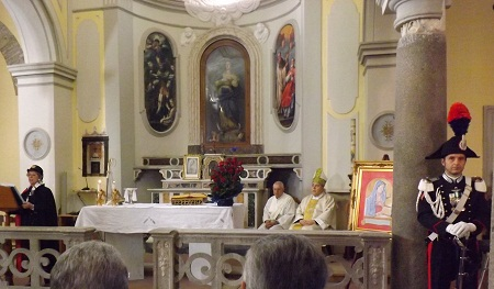 Oggi la celebrazione della Solenne Messa per la ricorrenza della Virgo Fidelis Patrona dell'Arma
