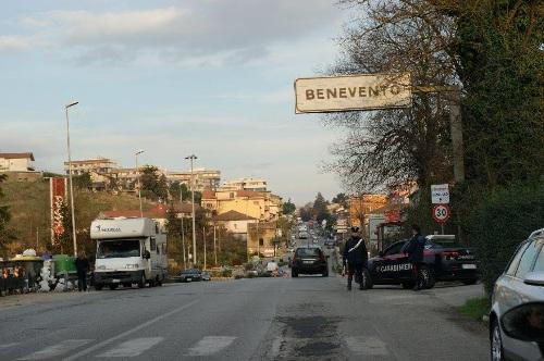 Benevento, Rione Libertà, arrestato dai carabinieri per detenzione e spaccio di Eroina