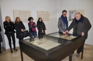 """Giornata della Memoria:Claudio Ricci ha visitato la mostra bibliografica """"I Giornali della Memoria"""""""