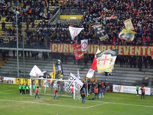 La Questura di Benevento comunica le norme da rispettare ed il tragitto da fare per la trasferta di domani a Foggia