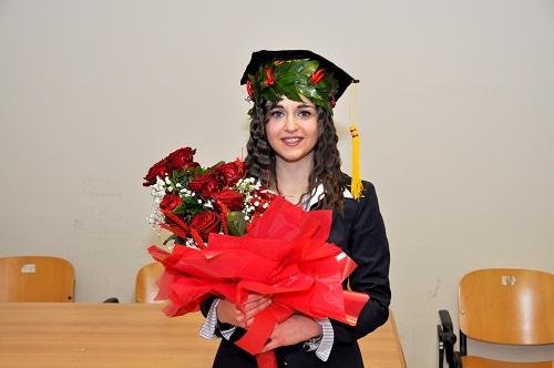 Si è brillantemente laureata in Biotecnologie la neo dottoressa Chiara Iammarino.