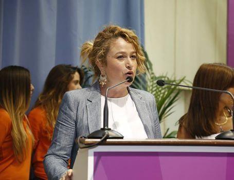 Giulia Abbate, conferenza PD su vertenza Forestali.