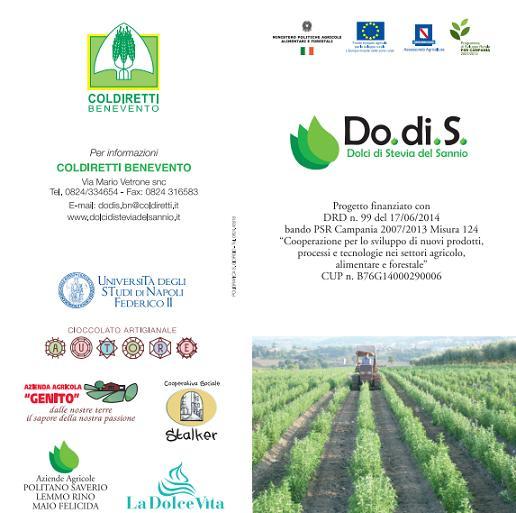 """""""Progetto Do.di.S – Dolci di Stevia del Sannio"""". A San Marco dei Cavoti il secondo incontro divulgativo"""