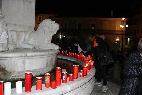 FlashMob dei docenti di Benevento in Piazza Santa Sofia