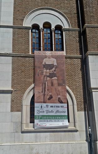 La Camera di Commercio di Benevento celebra Giulio Messina, unico sannita ad aver partecipato al Giro d'Italia