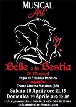 """Musical Art: è di scena a Benevento """"La belle e la bestia – la rosa incantata"""""""