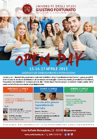 Open Day all'Unifortunato