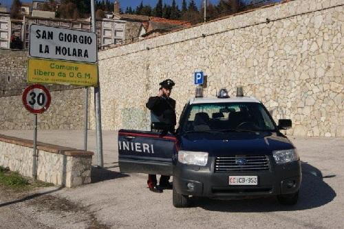 Val Fortore: controlli dei carabinieri sul territorio.Proposti fogli di via obbligatorio per tre napoletani