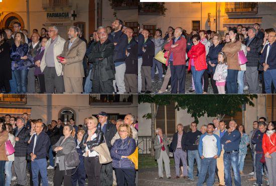 Comizio di apertura a Calvi per la lista del sindaco uscente Armando Rocco