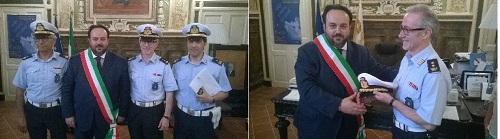Sant'Agata de'Goti, Polizia Municipale: ieri la Cerimonia conferimento distintivi di grado