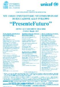 Unicef Benevento, al via il XIX corso di educazione allo sviluppo