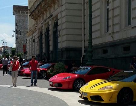Ferrari Cavalcade 2009, Il sindaco Mastella ringrazia le forze di Polizia per l'impegno profuso