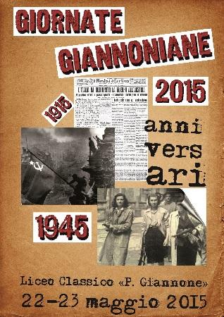 Il 22 e il 23 maggio prossimi la nuova edizione delle giornate giannoniane.