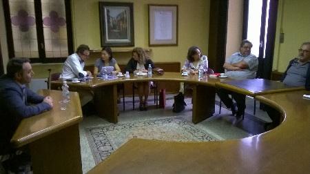 Questa mattina incontro con buyers stranieri alla Camera di Commercio di Benevento