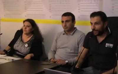 Elezioni Regionali,Maglione e Maio (M5S) sui manifesti abusivi