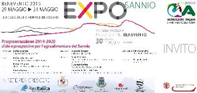 EXPO Sannio, domani la presentazione presso la Camera di Commercio